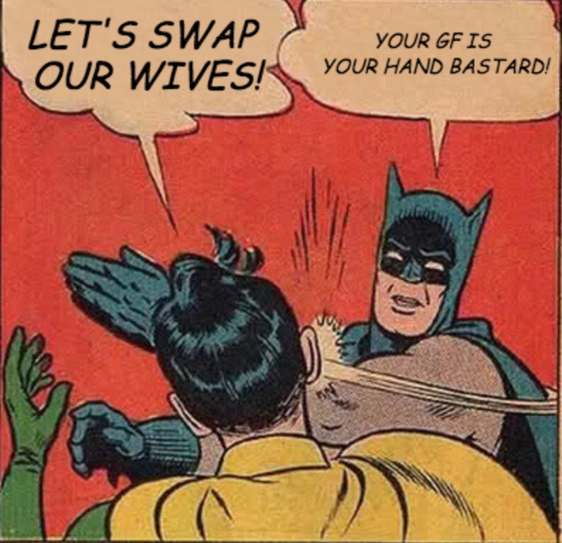Let's swap our wives!